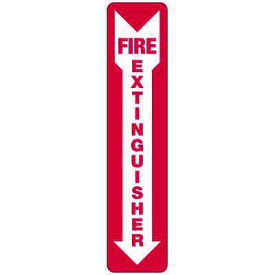 Fire Extinguisher (Down Arrow) - Industrial Fire Signs
