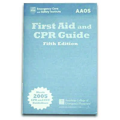 Jones and Bartlett First Aid and CPR Guide - Sixth Edition 9781449624606