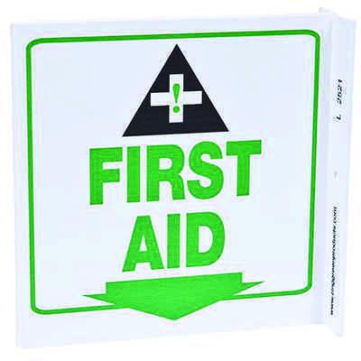 First Aid L-Style Sign