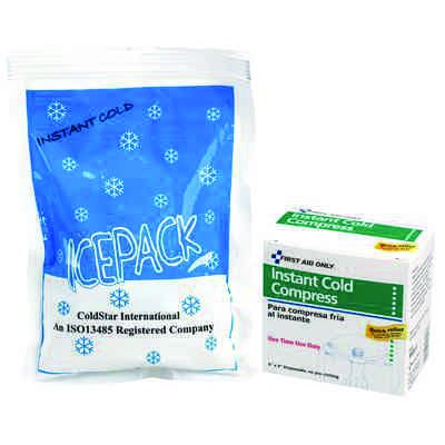 """First Aid Only™ 6""""x9"""" Instant Cold Compress M564-E"""