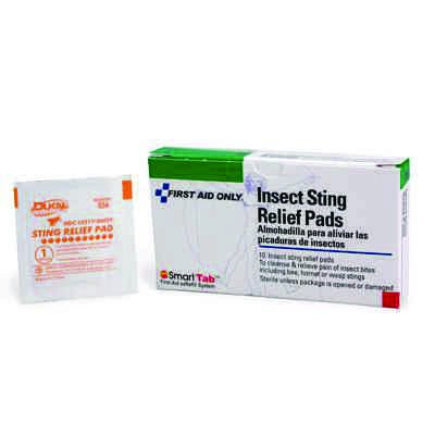 First Aid Only® Insect Sting Relief Pad