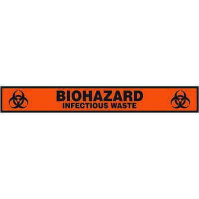 Floor Label- Biohazard Infectious Waste