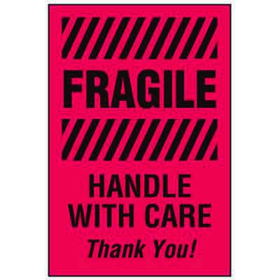 Fragile Labels - Handle With Care Thank You