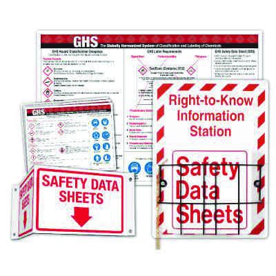 GHS Deluxe Right To Know  Station