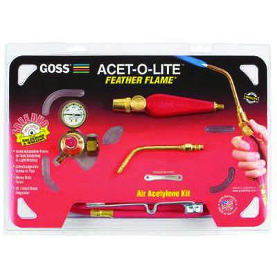 Goss® - Feather Flame® Air-Acetylene Torch Outfits KA-1H