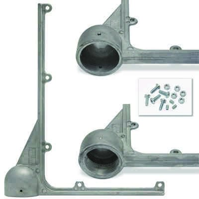 Hawkins® Pole Top Mounted L-Brackets
