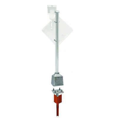 Heavy-Duty Pole Packages with V-Loc® Breakaway Anchor