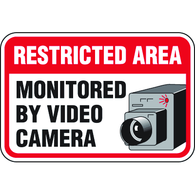 Heavy-Duty Property Protection Signs- Restricted Area