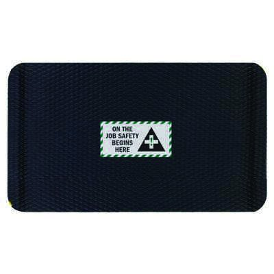 Hog Heaven Safety Message Anti-Fatigue Mats - On The Job Safety