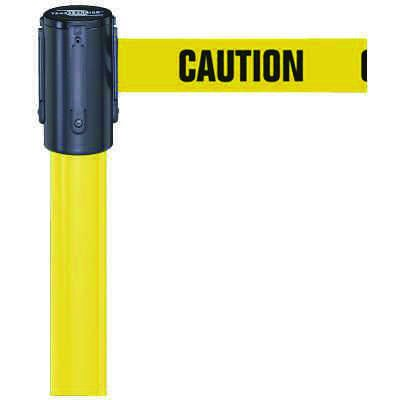 Caution Indoor Tensabarrier Stanchion System 890B-33-35-35-STD-NO-YAX-C