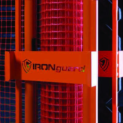 IRONguard Portable Safety Zone Fencing Material