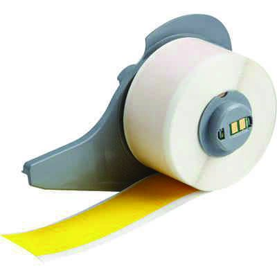 Brady M71C-1000-472-YL BMP71 Label - Yellow