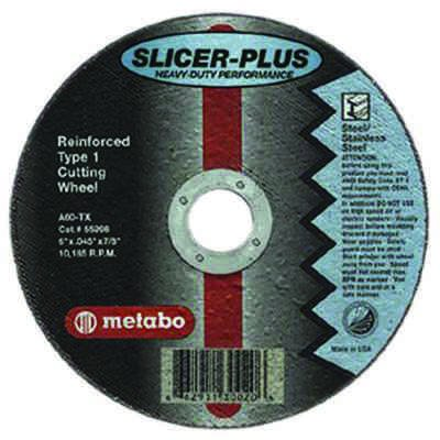 "Metabo - ""SLICER-PLUS"" High Performance Cutting Wheels 55997"