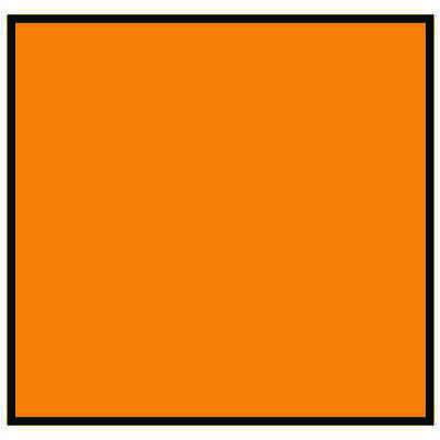Brady 120852 MiniMark Label - Orange