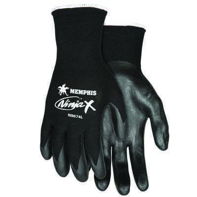Ninja® X Bi-Polymer Coated Work Gloves N9674L