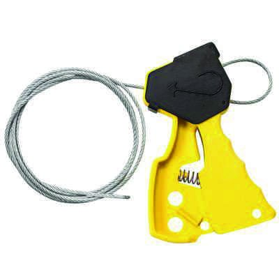 Brady Original Cable Lockout - Yellow - Part Number - 45192 - 1/Each
