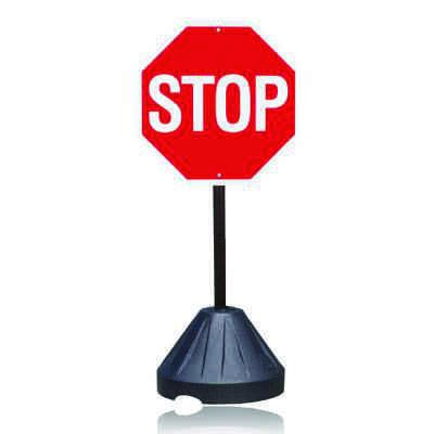 Portable Sign Stanchion - Stop