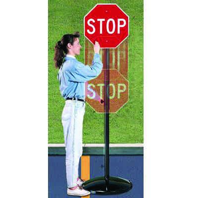 Portable Sign Stands - Height Adjustable
