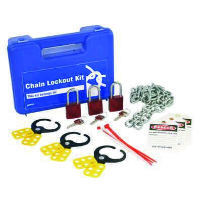 Brady Chain Lockout Kit - Part Number - 45587 - 1/Each