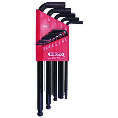 Proto® - 13 Pc Ball-Hex L-Key Sets 4995