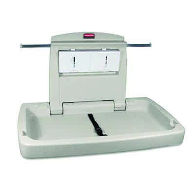 Rubbermaid® Commercial Sturdy Station 2™ Baby Changing Station RCP781888