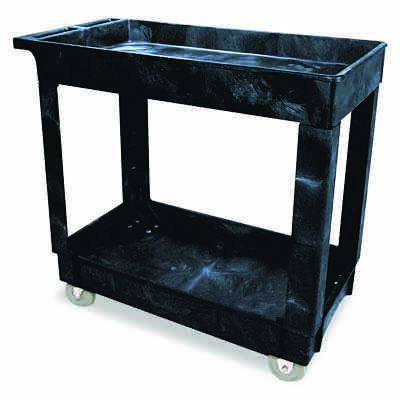 Rubbermaid® Service/Utility Carts RCP9T6600BLA