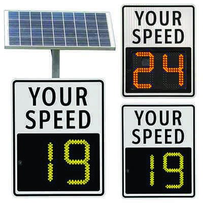 SafePace® 100 Radar Feedback Sign