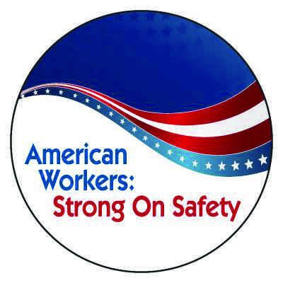 Safety Hard Hat Labels - American Workers