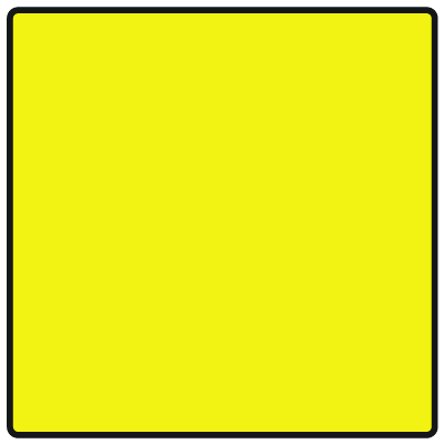Safety Traffic Cone Signs - Blank