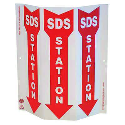 SDS Station Tri View Sign