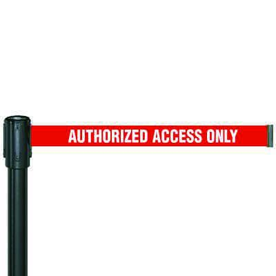 Authorized Access Only Security Tensabarrier 890B-33-35-33-STD-NO-S4X-C