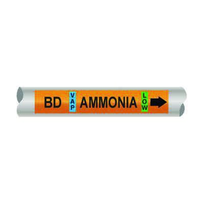 Setmark® Ammonia Pipe Markers - Booster Discharge