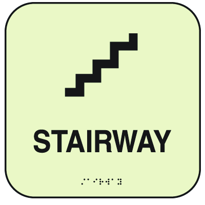 SetonGlo™ Signs - Stairway