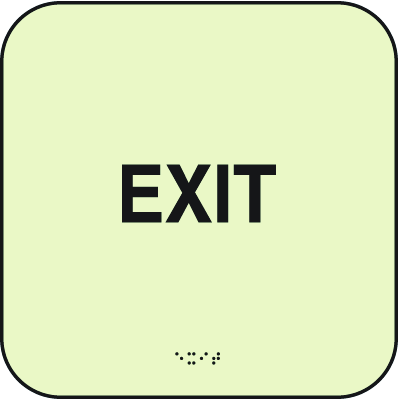 SetonGlo™Signs - EXIT