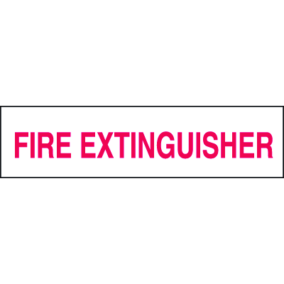Setonsign® Value Packs - Fire Extinguisher