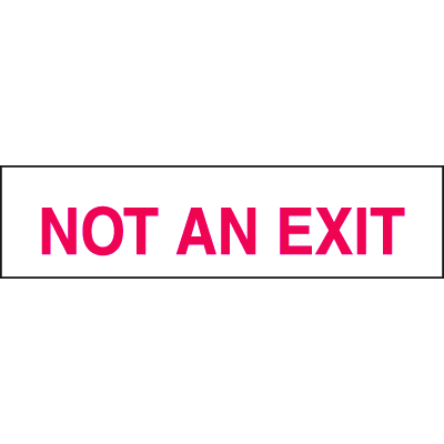 Setonsign® Value Packs - Not An Exit