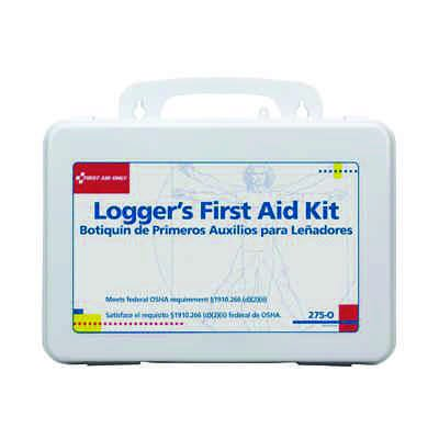 First Aid Only Logger's Industry First Aid Kit 275-O