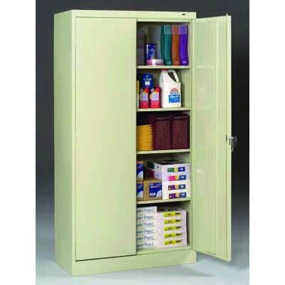 "24""-deep Tennsco Storage Cabinets"