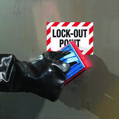 ToughWash® Labels - Lockout Point