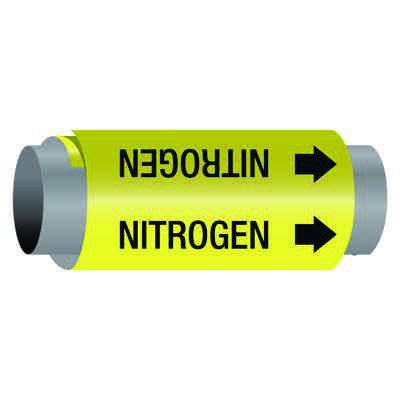 Ultra-Mark® Self-Adhesive High Performance Pipe Markers - Nitrogen