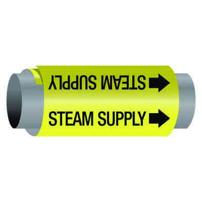 Ultra-Mark® Self-Adhesive High Performance Pipe Markers - Steam Supply