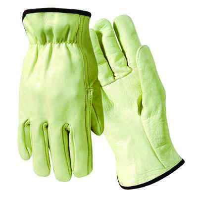 Wells Lamont® Grain Leather Driver Gloves Y0123LS