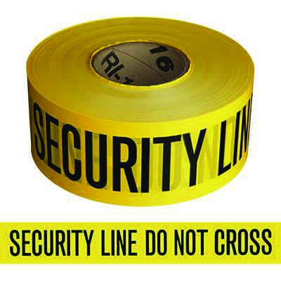 Barricade Tape - Security Line Do Not Cross