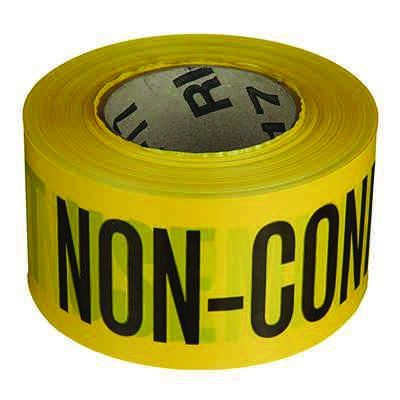 Quality Control Barricade Tape - Do Not Use