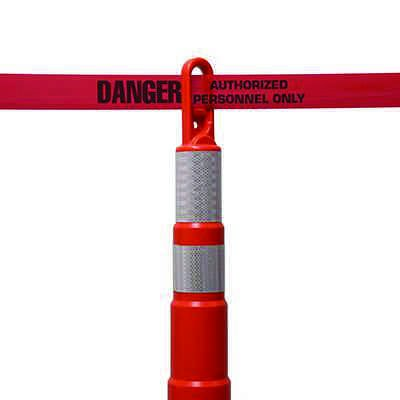 Danger Authorized Personnel Barricade Tape