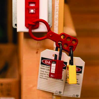Zing® RecycLockout Lockout Tagout Hasp, Recycled Plastic