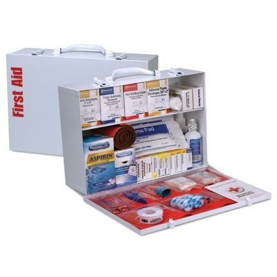 ANSI 75-Person Class B+ First Aid Station With Meds
