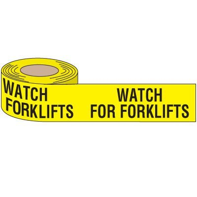 Watch for Forklifts Anti-Slip Tape