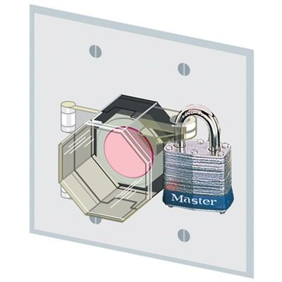 Button Lock-Out Covers