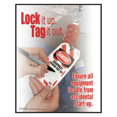 Clement Safety Posters - Lockout Tagout